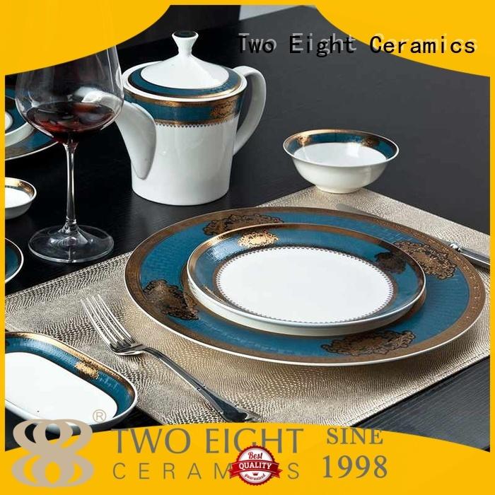 dark rose blue italian two eight ceramics Two Eight