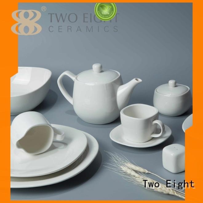 bistro contemporary rim OEM two eight ceramics Two Eight