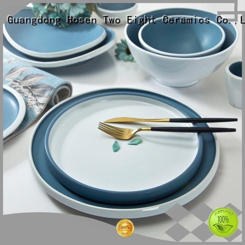 Wholesale mixed 16 piece porcelain dinner set Two Eight Brand
