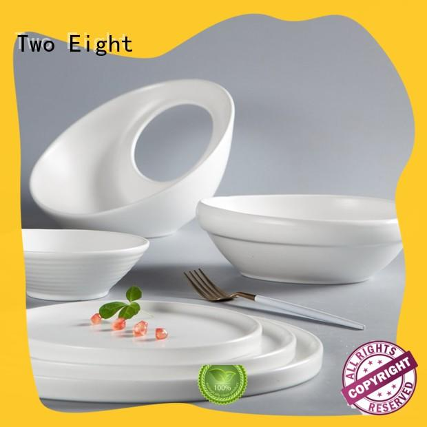 Two Eight fresh restaurant crockery wholesale customized for dinning room