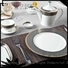 mixed fashion hotel Two Eight Brand fine white porcelain dinnerware factory