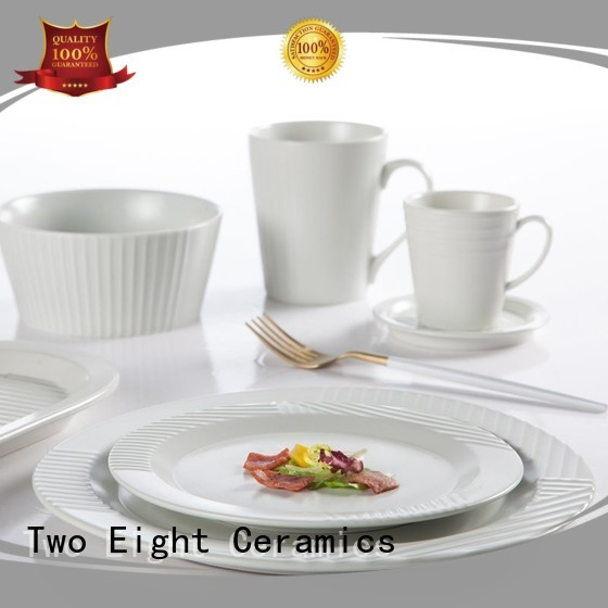 classic dinnerware porcelain sets customized for kitchen Two Eight