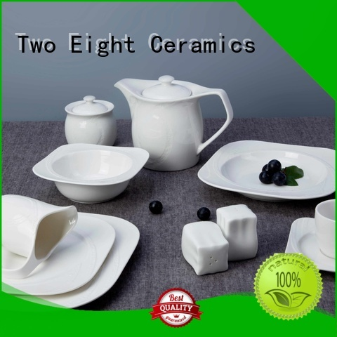 stock best porcelain dinnerware in the world customized for dinning room Two Eight