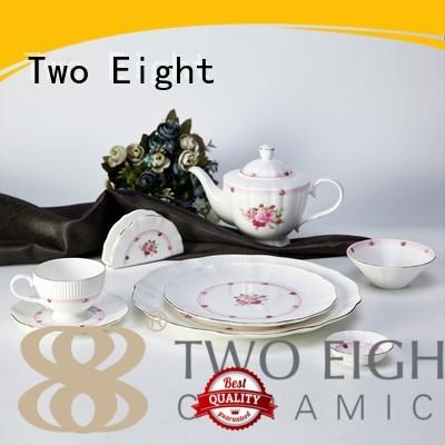 fine white porcelain dinnerware dinnerware bone two eight ceramics round Two Eight Brand