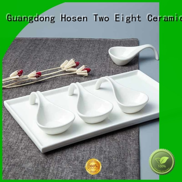 Two Eight bone china cups company for hotel