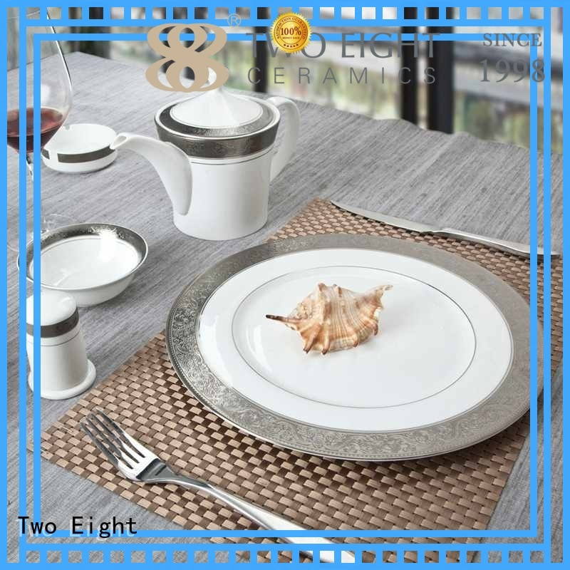 Two Eight tableware fine dinnerware sets wholesale for hotel