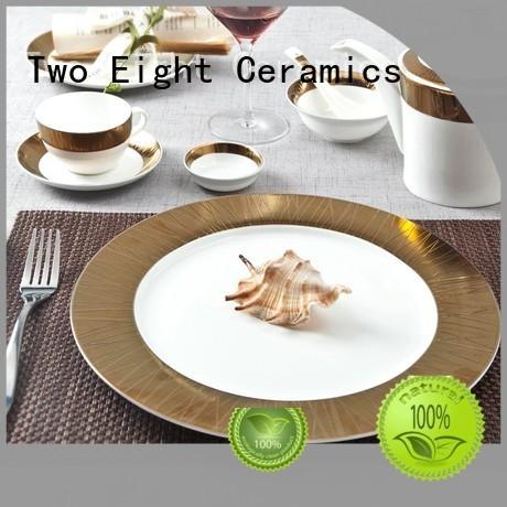 fine white porcelain dinnerware porcelain two eight ceramics Two Eight Brand