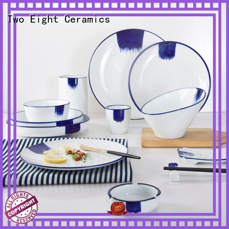 Two Eight restaurant grade plates for business for bistro