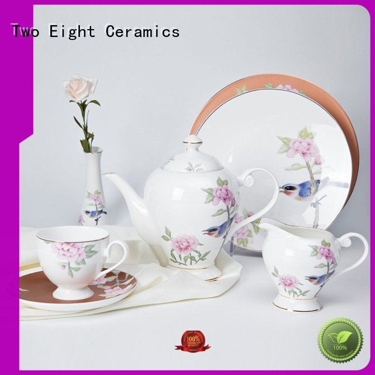 gold best bone china factory price for kitchen Two Eight