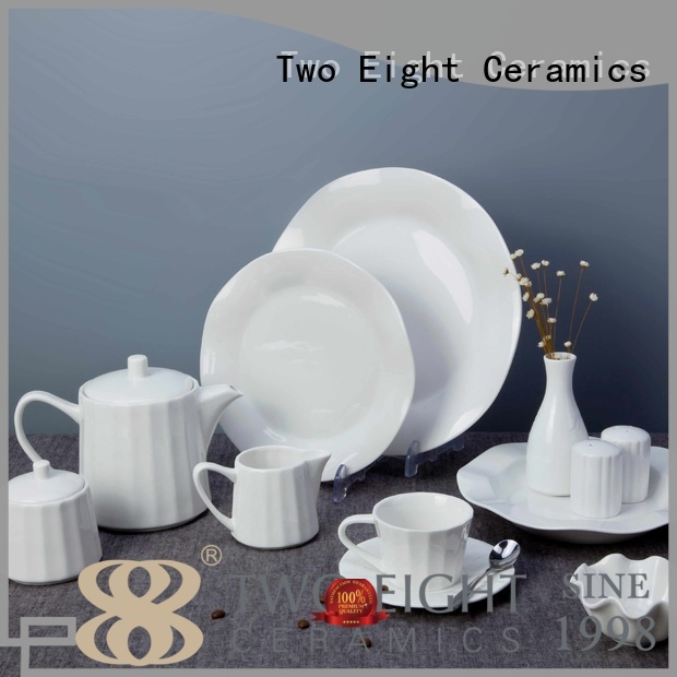 fang rim plate Two Eight Brand two eight ceramics supplier