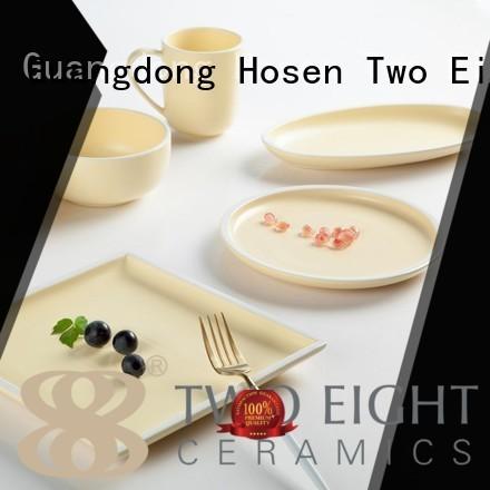 su classic 16 piece porcelain dinner set oragne bone Two Eight Brand