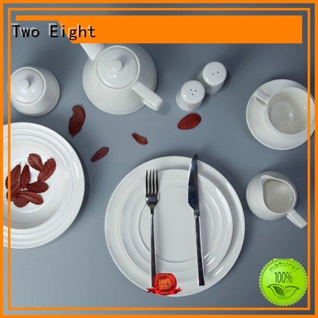 Two Eight home german vietnamese white porcelain tableware modern