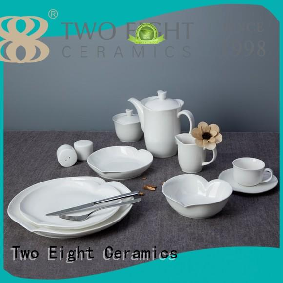 Two Eight french style cheap restaurant dinnerware directly sale for bistro