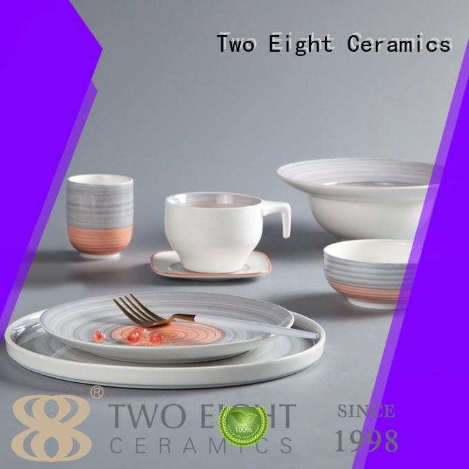 Two Eight classic chinese dinner set customized for dinning room