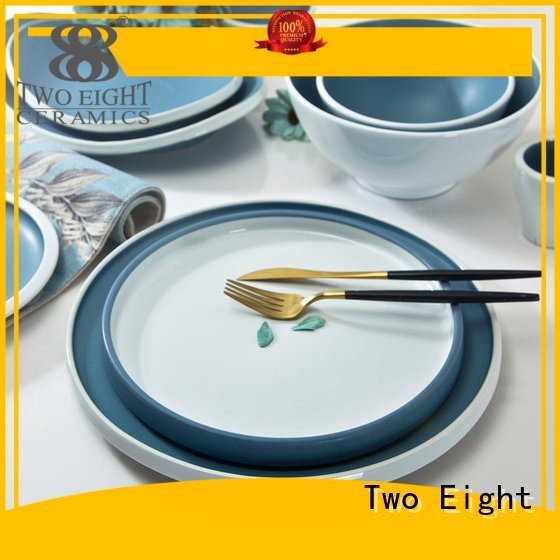 16 piece porcelain dinner set color navy plate mixed Two Eight