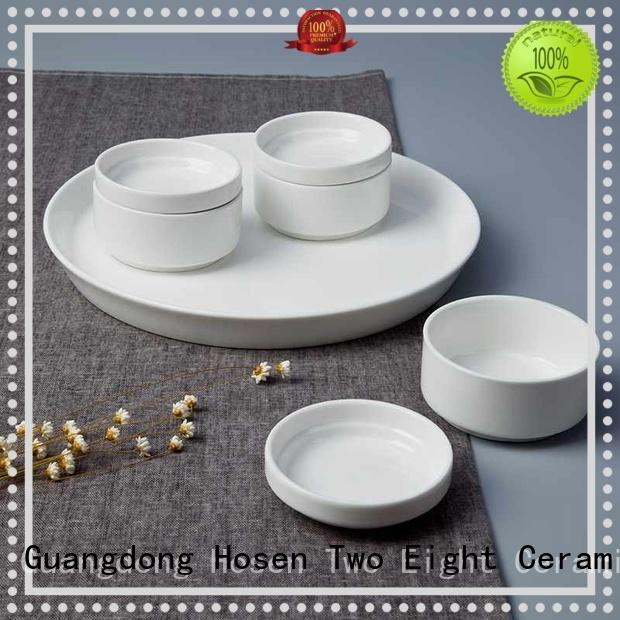 Two Eight elegant bone china dinner set fashion for home
