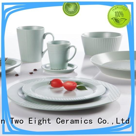 vintage 20 piece porcelain dinnerware set series for restaurant