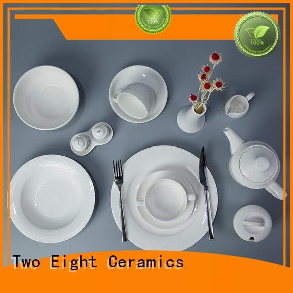 Hot two eight ceramics embossed Two Eight Brand