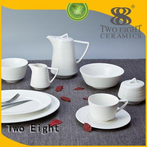 Two Eight dinner white dinner sets contemporary royal