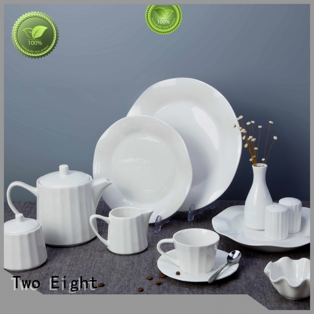 white porcelain tableware style quan bing Two Eight Brand two eight ceramics