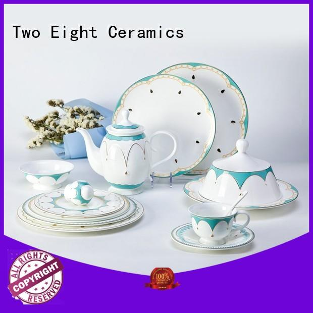 Two Eight silver restaurant dining ware supplier for home