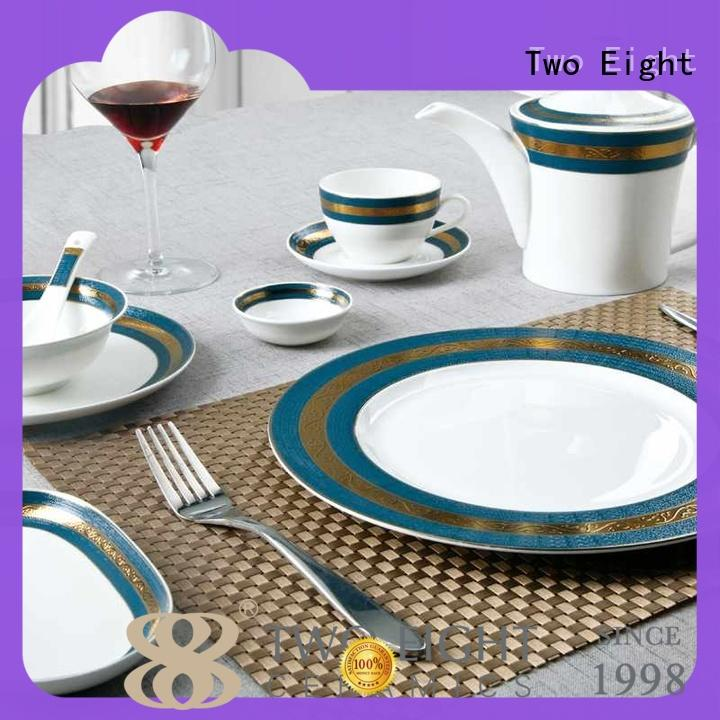 elegant unbreakable restaurant plates blue personalized for teahouse