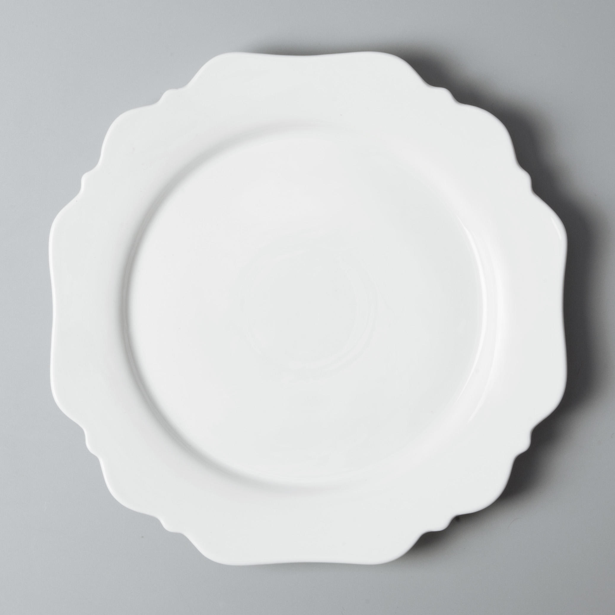 Two Eight royalty cheap white porcelain dinnerware German style for bistro-3
