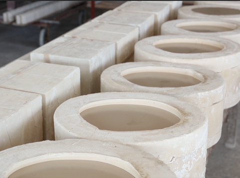 Production Process Display-Grouting  From Hosen Two Eight Ceramics