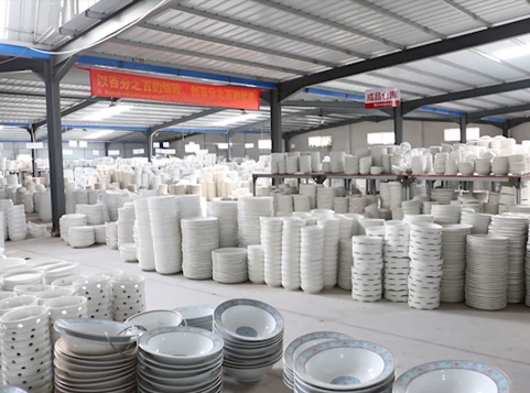 Ceramic Tableware Supplier: Tens of thousands of various, complete style products storage