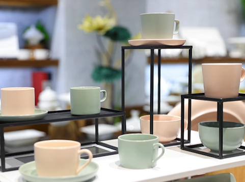 28 Ceramics Product Series: Colorful Ceramic Tableware