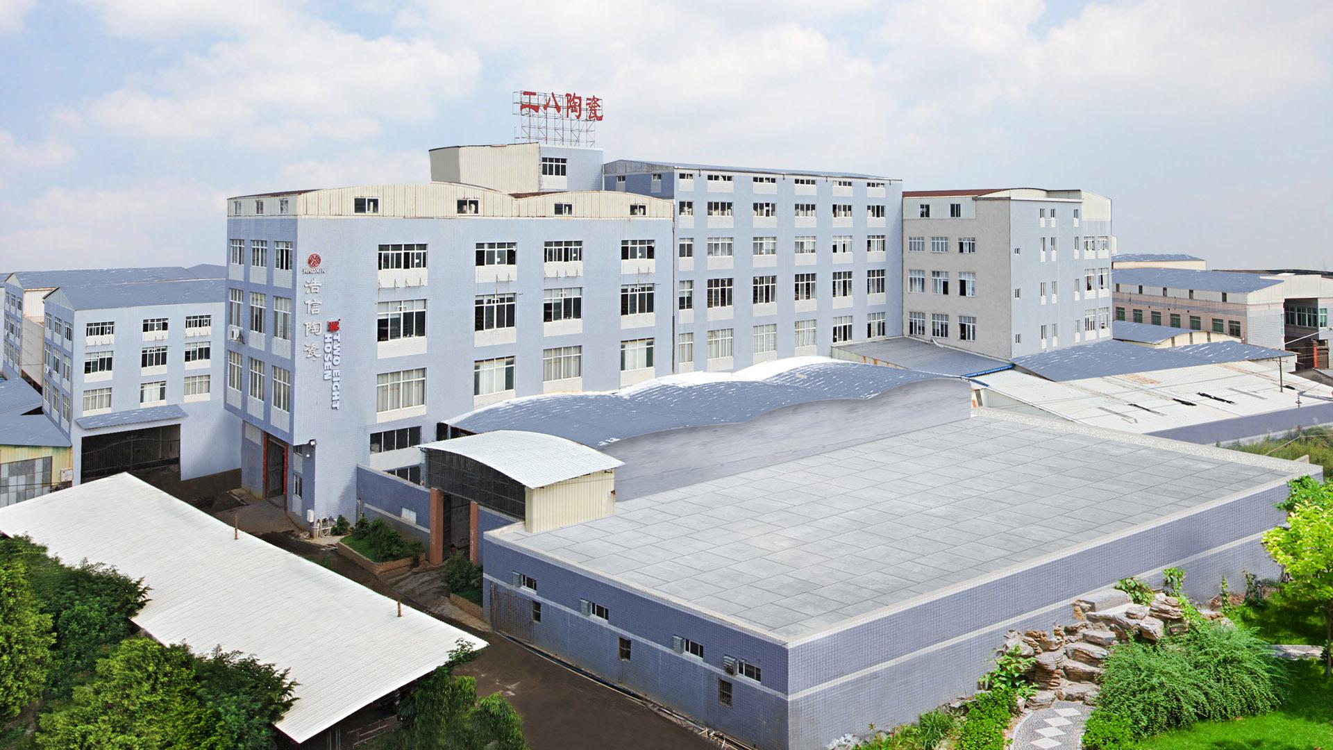 Large ceramic tableware production base