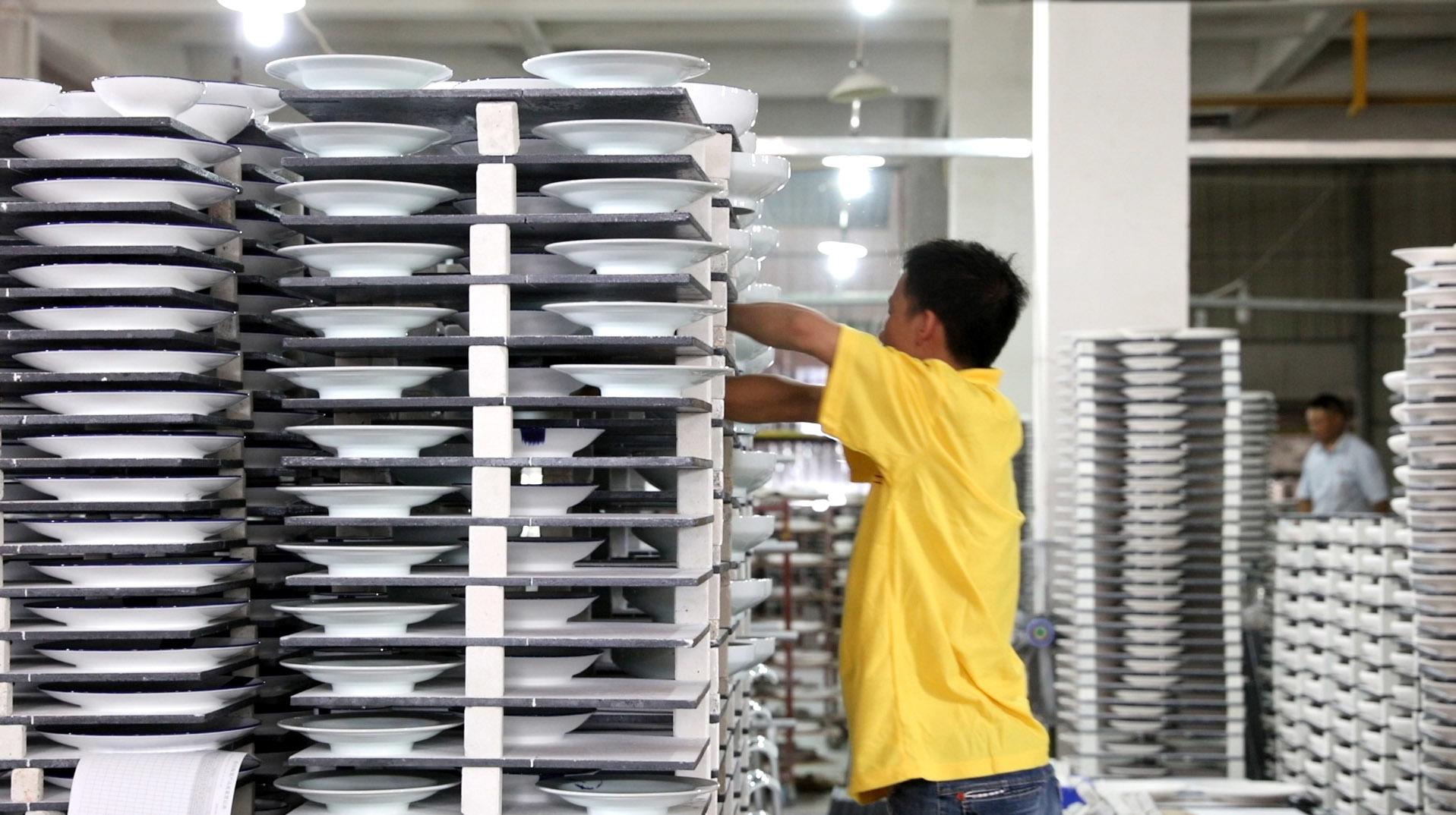 Two Eight Ceramics Factory - Loading Kiln