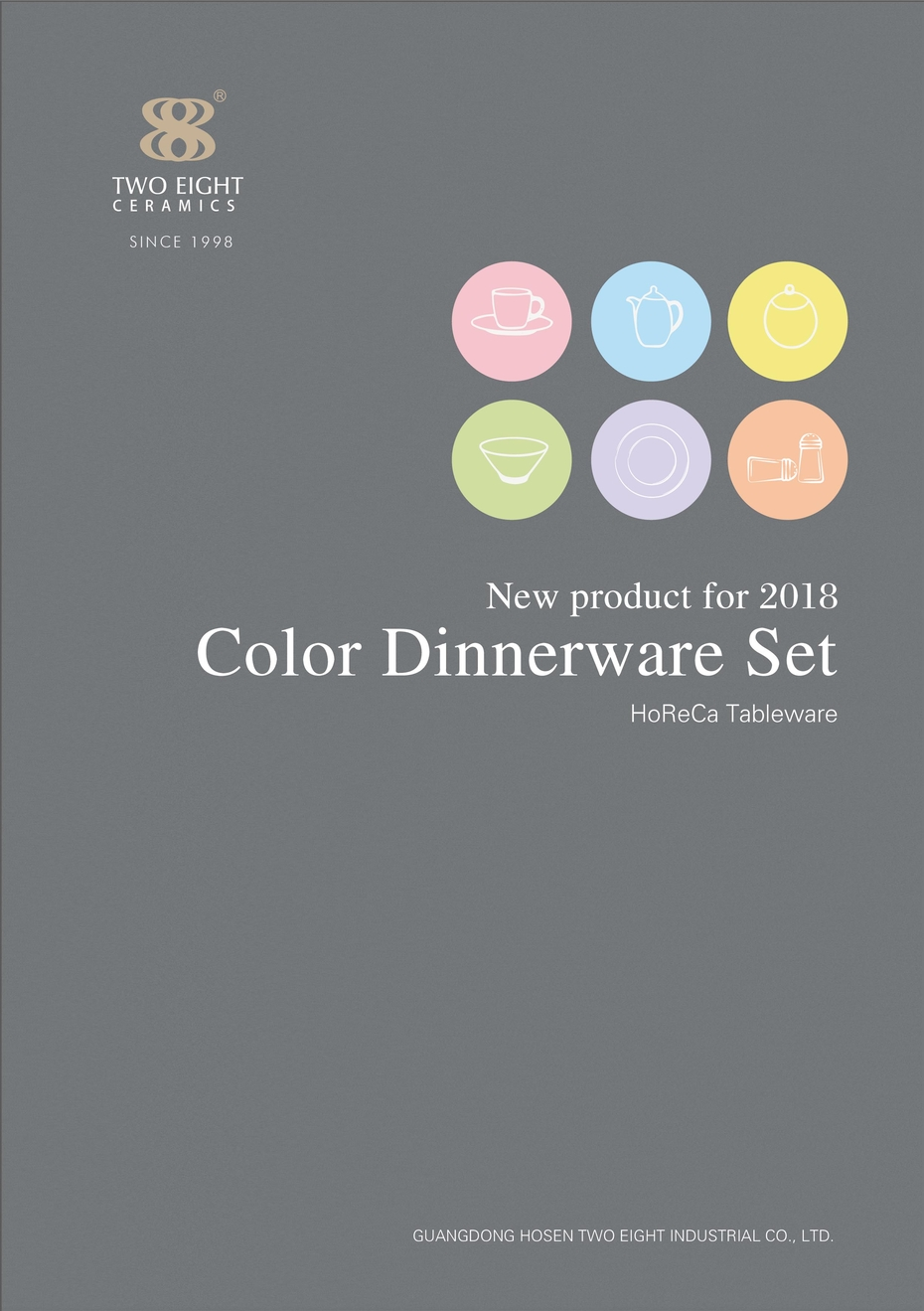New product for 2018-Color Dinnerware Set