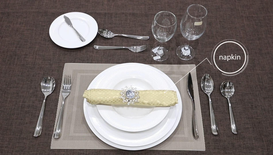 How to set a table---Two Eight Ceramic Provides You With Exquisite Dining Taste
