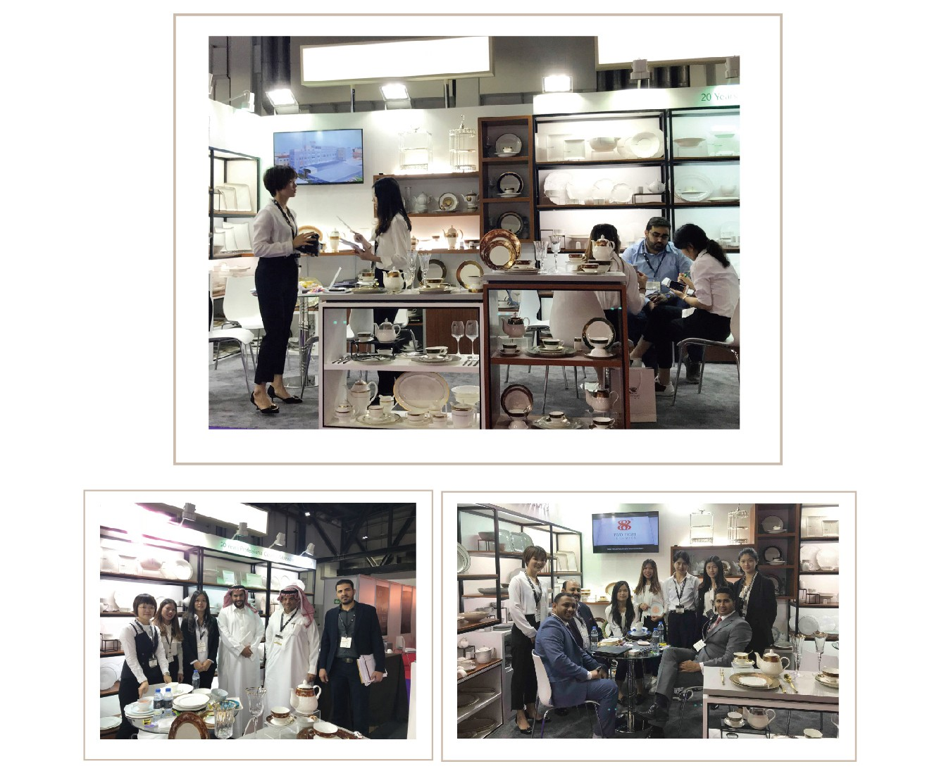 Two Eight-Two Eight Ceramics | The Dubai Hotel Show 2018 Successful Conclusion | Info-5