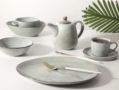 Hotel restaurant porcelain dinnerware set -TC02