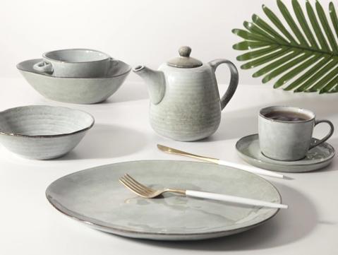 Hotel restaurant porcelain dinnerware set -TC02