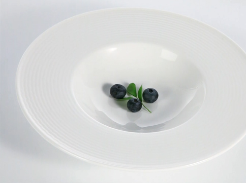 Wave textures Series ceramic tableware - TW36-Two Eight