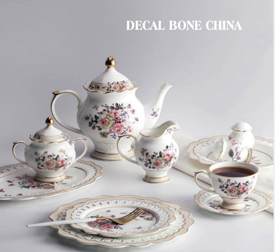 New Arrival Of Decal Dinnerware
