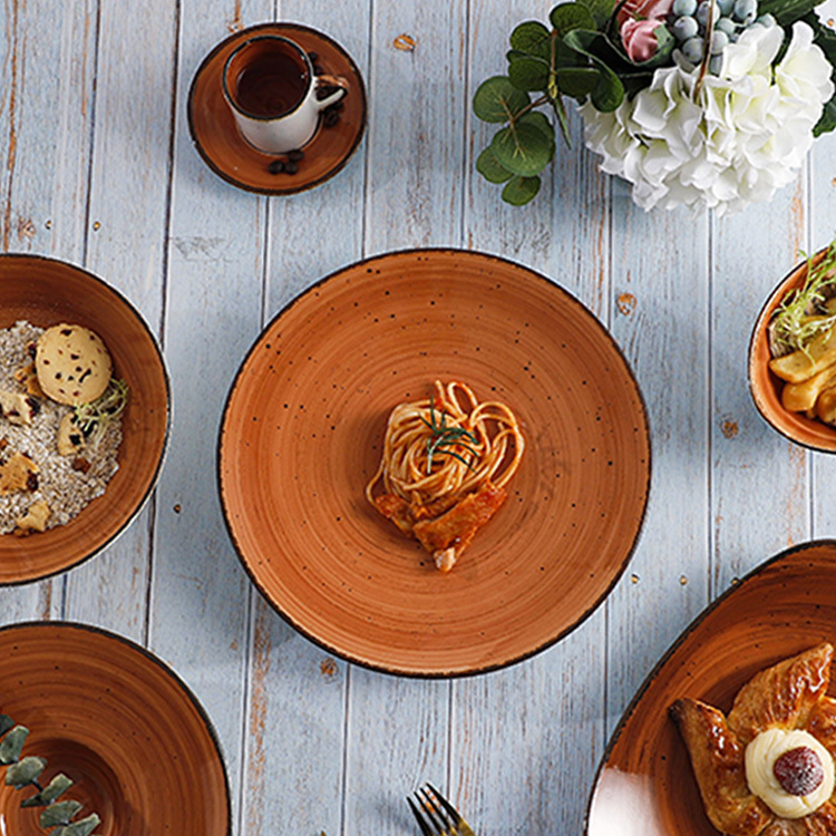 2021 New Color European Style Porcelain Tableware with Fancy Design - Urban Collection