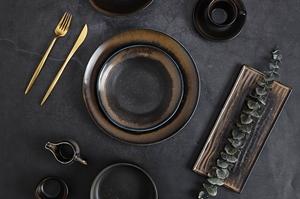 FOG COLLECTION - 2021 New Color Porcelain Dinnerware Set for Restaurant