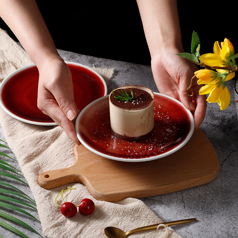 FIRE COLLECTION - 2021 Color Glazed Dinnerware for Restaurant