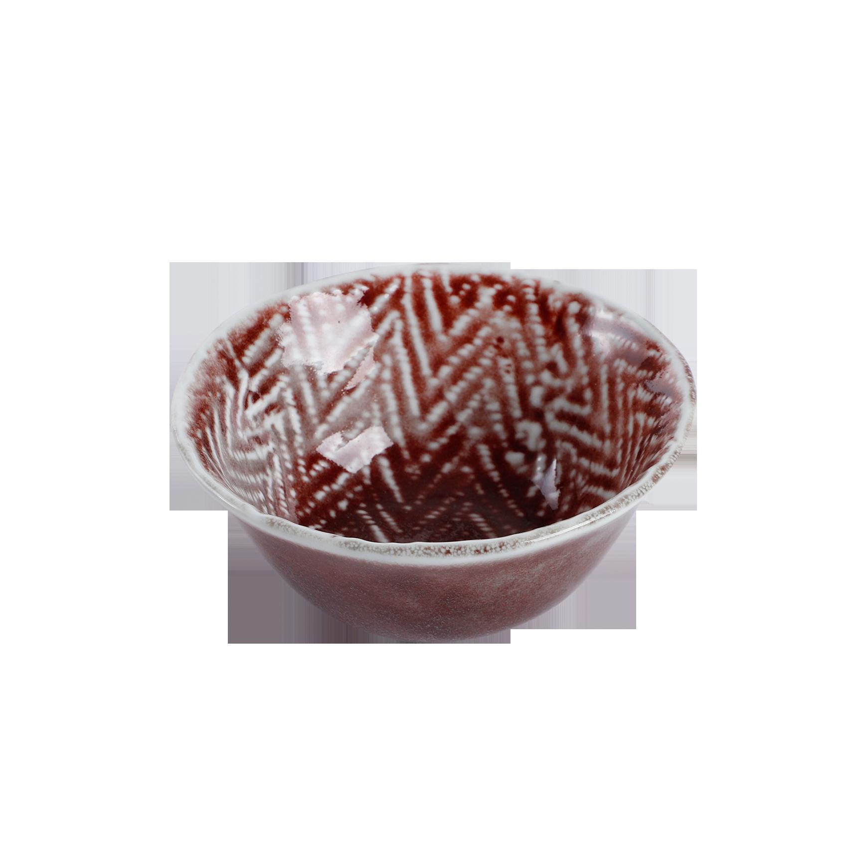 Mid-printed bowl