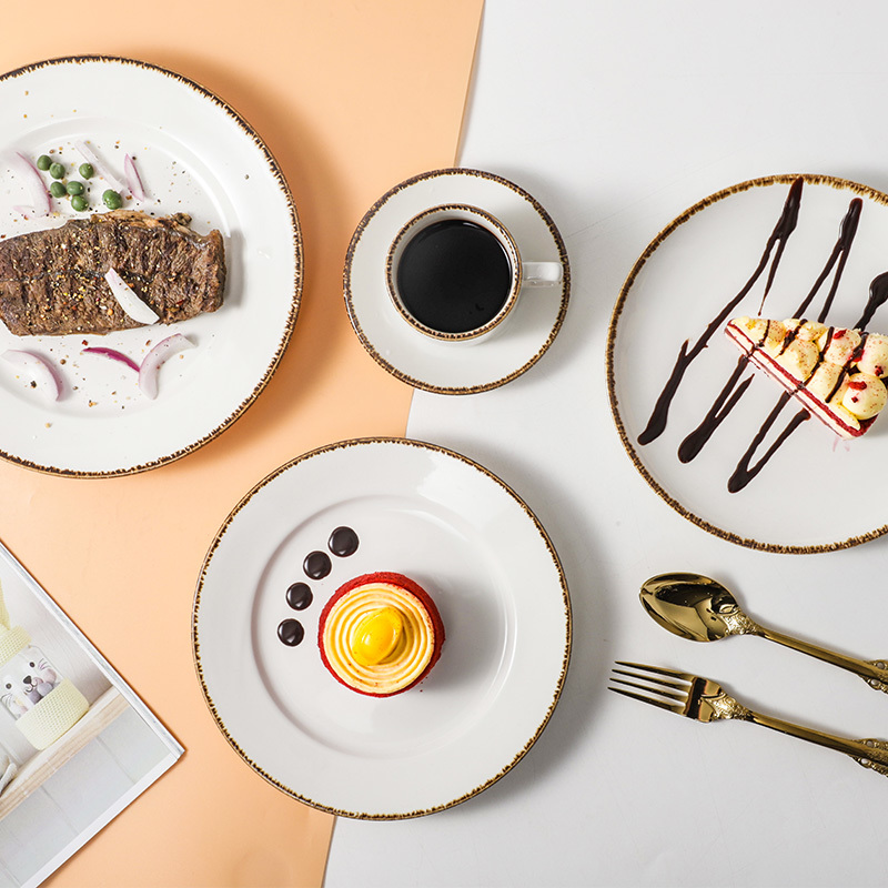 Knit Collection - 2021 Color Glazed Dinnerware for Hotel, Restaurant and Cafe