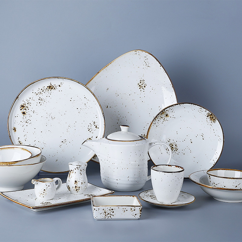 Embellish Collection - 2021 Color Glazed Dinnerware for Hotel