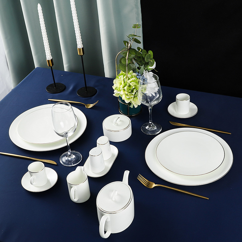 Two Eight Fine china dinnerware set factory for hotel-2