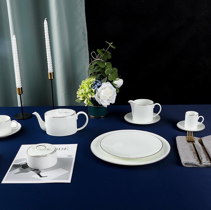 Royal Luxury Emerald Dinnerware Collection - 2021 Bone China Dinnerware for Restaurant