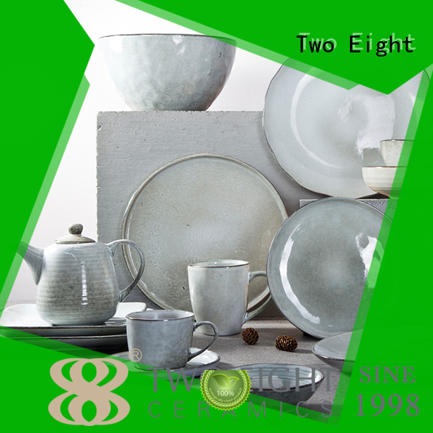 16 piece porcelain dinner set contemporary green two eight ceramics manufacture