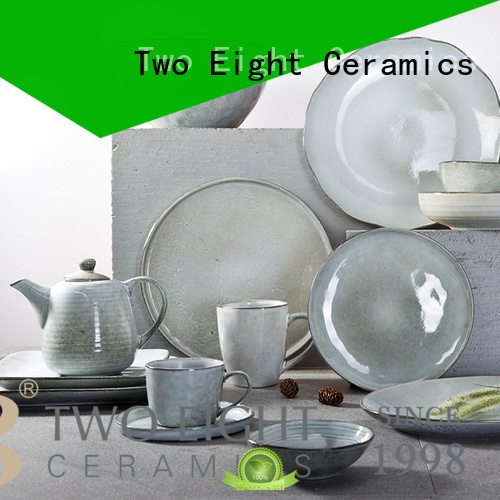 Two Eight contemporary best french porcelain dinnerware from China for dinner