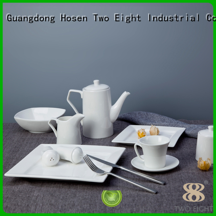 Hot huan two eight ceramics dish embossed Two Eight Brand